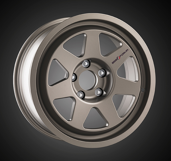 Wheel BMW M3 E30 Matt Titanium